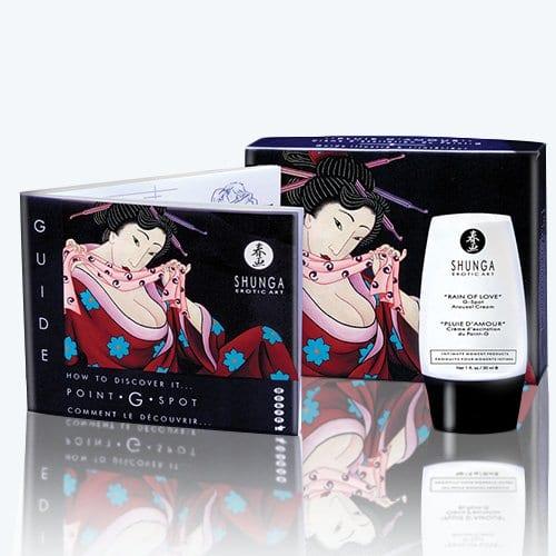 """Shunga """"Rain Of Love"""" G-Spot Arousal Cream"""