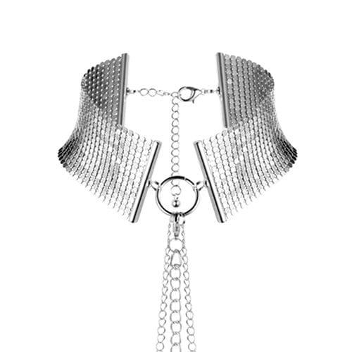 Desir Metallique - Mesh Collar Silver