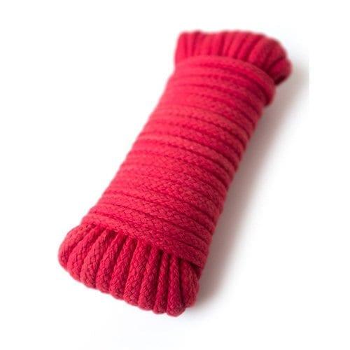 Cotton Bondage Rope Red