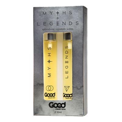 Good Clean Love Myths/Legends Aphrodisiac Scent Set 10 ML. each