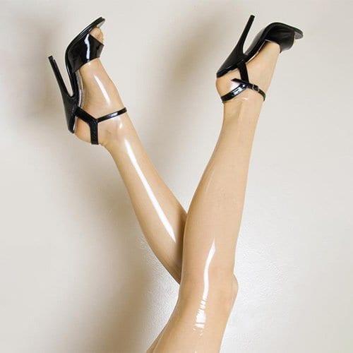 Latex Stockings Transparent