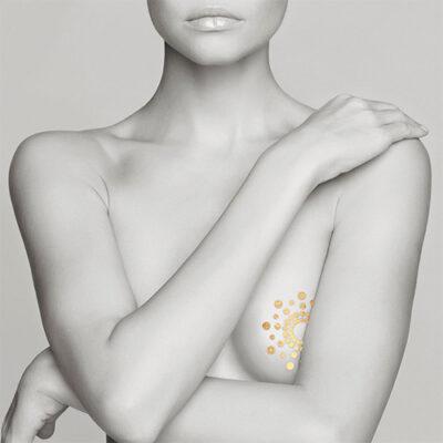 Bijoux Indiscrets Mimi Body Tattoos 6 PK. – Metallic