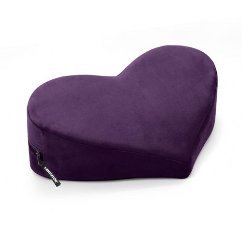 Heart Wedge Sex Pillow Aubergine