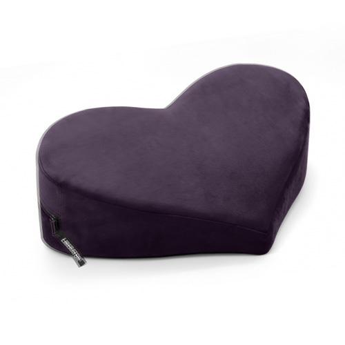 Heart Wedge Sex Pillow Black X500