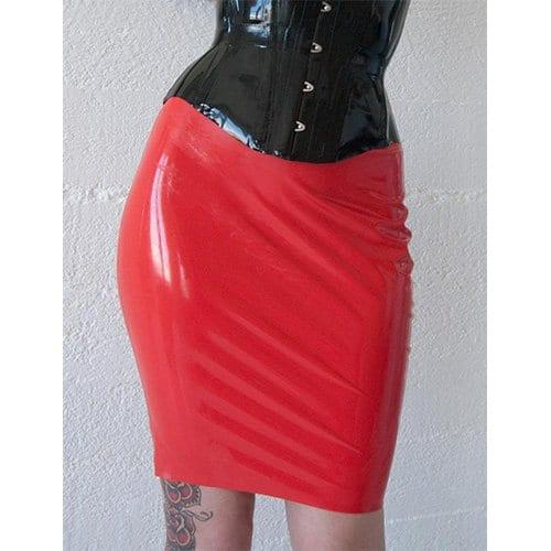 Zippered Spanking Skirt Front