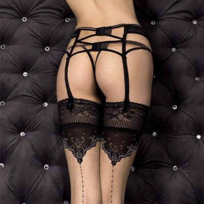 Ballerina Garter Belt with Thong Art 318