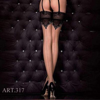 Ballerina Thigh Highs Art:317