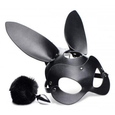 Tailz Bunny Mask With Plug