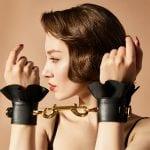 Zalo & Upko Doll Series Leather Lace-like Handcuffs