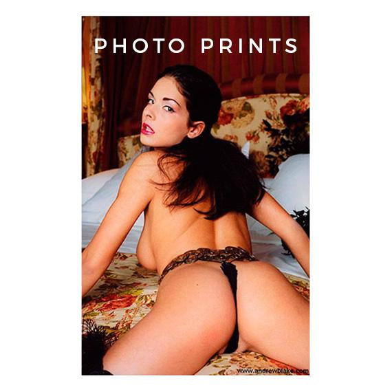 Provocative Photo Print Poster