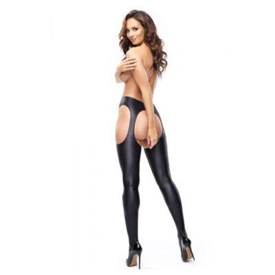 Strip Panty Suspender Tights