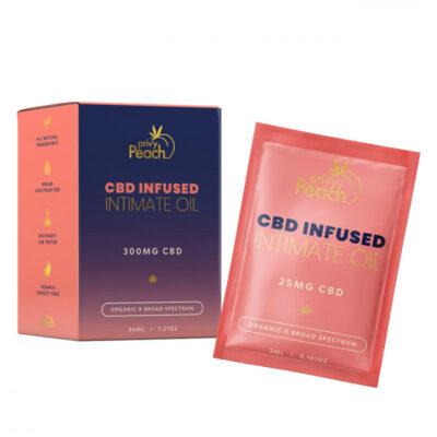 Privy Peach CBD Intimate Oil 300 mg