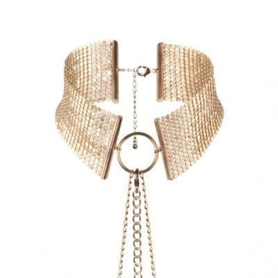 Désir Métallique – Metallic mesh collar